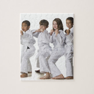 youth practicing martial arts 2 puzzle
