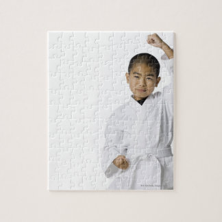 youth practicing martial arts 3 jigsaw puzzles