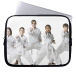 youth practicing martial arts 4 computer sleeves