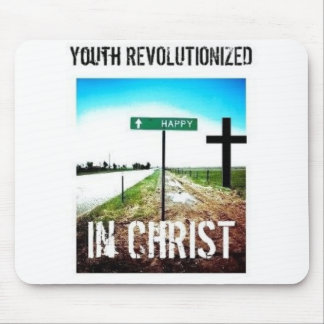 Youth Revolutionized in Christ Mousepad