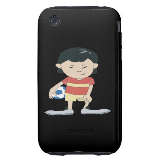 Youth Soccer iPhone 3 Tough Covers