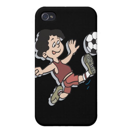 Youth Soccer iPhone 4 Cases