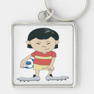 Youth Soccer Key Chains