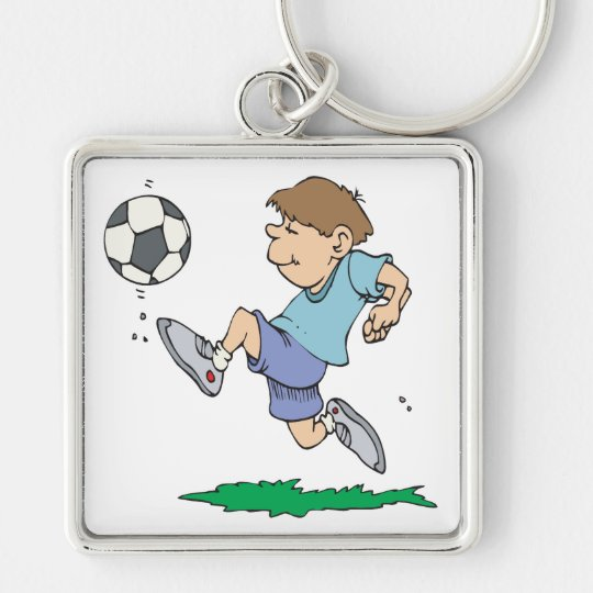 Youth Soccer Keychain