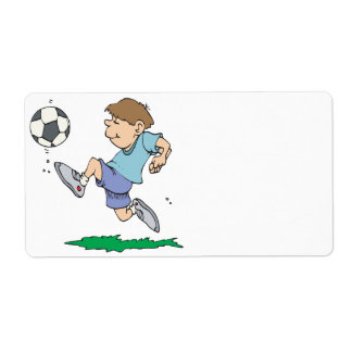 Youth Soccer Shipping Labels
