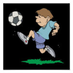 Youth Soccer Print