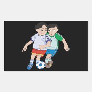 Youth Soccer Rectangular Sticker