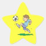 Youth Soccer Star Sticker