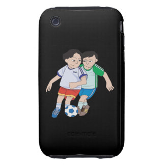 Youth Soccer Tough iPhone 3 Cases