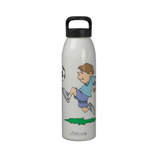 Youth Soccer Reusable Water Bottle