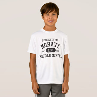 Youth sport-tek Property of Mohave M.S. t-shirt