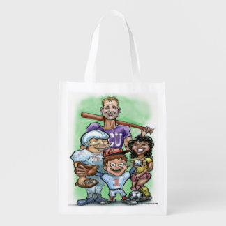 Youth Sports Grocery Bag