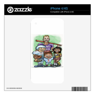 Youth Sports Skins For The iPhone 4S