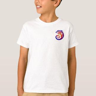 Youth tribal chameleon shirt design