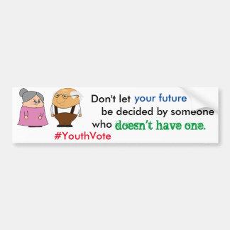 Youth Vote Bumper Sticker