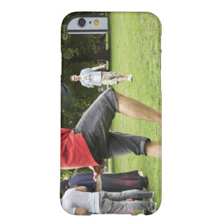 youth, young, friends, park, bbq, grass, trees, barely there iPhone 6 case