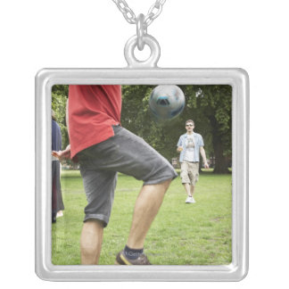 youth, young, friends, park, bbq, grass, trees, personalized necklace