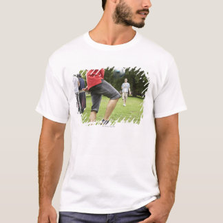 youth, young, friends, park, bbq, grass, trees, T-Shirt