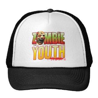 Youth Zombie Head Mesh Hats