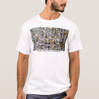 """""""Youthful Commodities"""" exhibition shirt"""