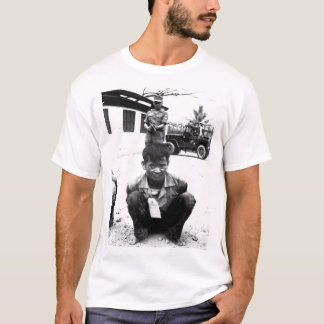 Youthful hard-core Viet Cong, heavily guarded, awa T-Shirt