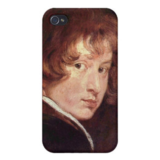 Youthful self-portrait by Antoon van Dyck Cases For iPhone 4