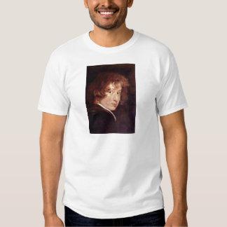 Youthful self-portrait by Antoon van Dyck Shirt