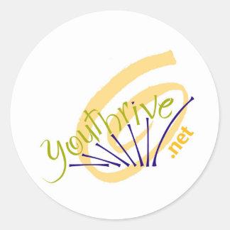 youthrive Logo Classic Round Sticker