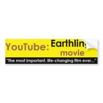 Youtube: Earthlings movie Bumper Sticker