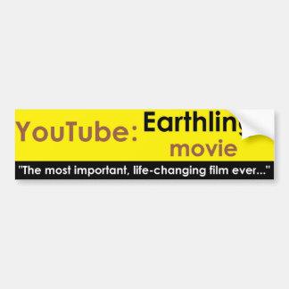 YouTube: Película de los Earthlings Pegatina Para Auto