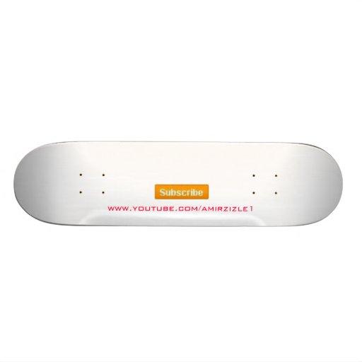Youtube Subscribe Board Skateboard Decks