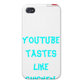 YouTube Tastes Like Chicken iPhone 4 case! iPhone 4 Cases