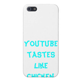 YouTube Tastes Like Chicken iPhone 4 case! iPhone SE/5/5s Case