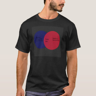 youtube venn diagram T-Shirt