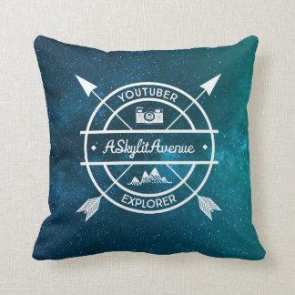 Zoella Throw Pillow : Youtube Pillows - Decorative & Throw Pillows Zazzle