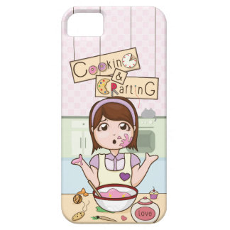 YouTube's CookingAndCrafting iPhone SE/5/5s Case