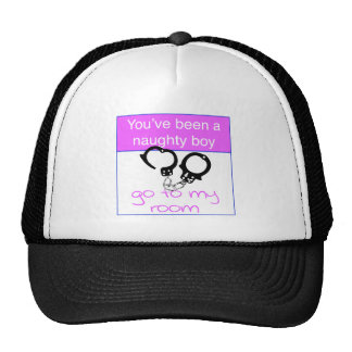 You've been a naughty boy trucker hat