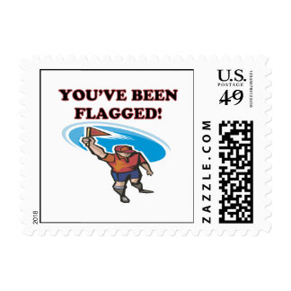 Youve Been Flagged Postage