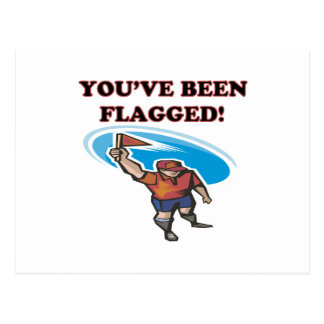 Youve Been Flagged Postcard
