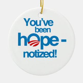 You've been hopenotized ornaments