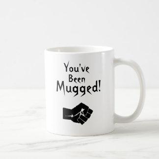 You've Been Mugged! Classic White Coffee Mug