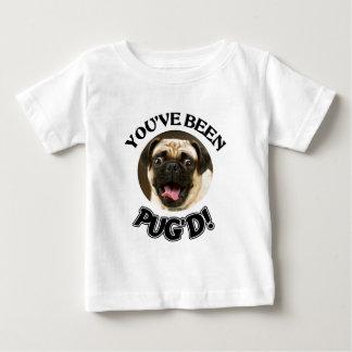 YOU'VE BEEN PUG'D! - FUNNY PUG DOG TSHIRTS