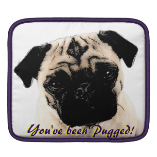 You've been pugged iPad Case