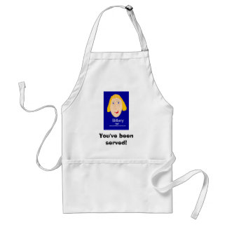 You've been served! adult apron