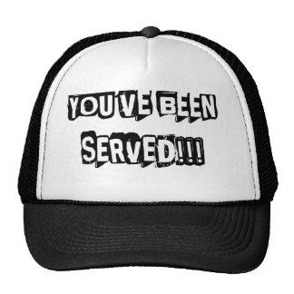 You've Been Served Trucker Hat
