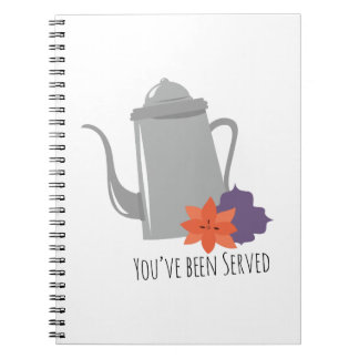 Youve Been Served Notebook