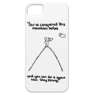 You've Conquered This Mountain Before Phone Case