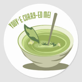 Youve Curry-ed Me Classic Round Sticker