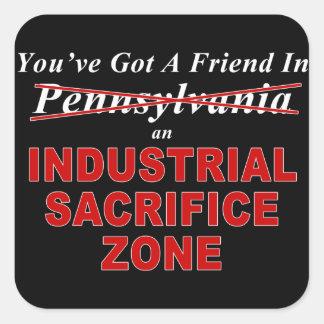 You've got a friend in PA - Square Stickers