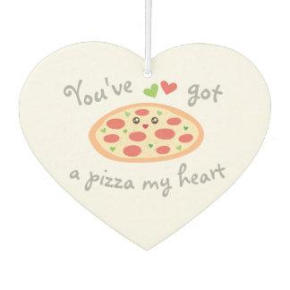 You've Got a Pizza My Heart Cute Funny Love Pun Air Freshener